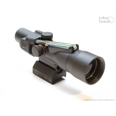 Image 1 of Trijicon ACOG 3x30 TA33 with Green Horseshoe Ballistic Reticle and LT105 QD Mount