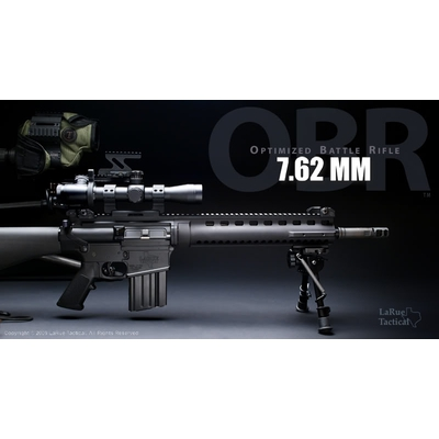 Image 2 of 20 Inch LaRue Tactical OBR (Optimized Battle Rifle) Complete 7.62 Rifle