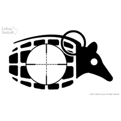 Image 1 of LaRue Dillo Grenade Vinyl Decals/Stickers