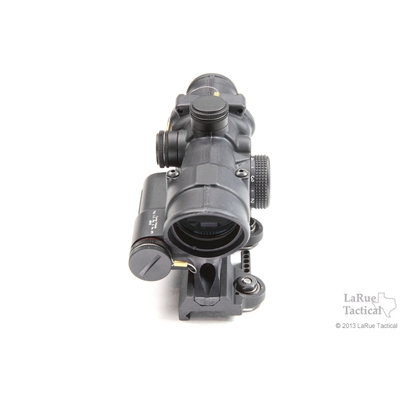 Image 2 of Trijicon 4x32 TA02 ACOG: LED Scope, Battery Illuminated Red Crosshair .223 Reticle w/ LT100 QD Mount