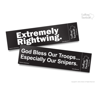 Image 1 of 10 Pack, LaRue Bumper Stickers