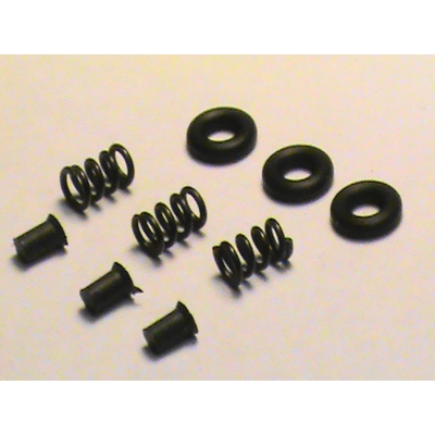 Image 2 of Extractor Upgrade Triple kit/AR-15/Mil-Spec/3 Extra Power 5-Coil Extractor Springs, 3 Extractor Inserts and 3 Viton O-Rings