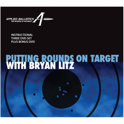Image 2 of Putting Rounds on Target with Bryan Litz, 4-Disk Dvd Set.