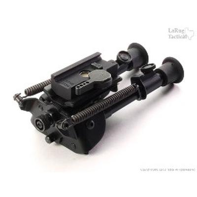 Image 1 of Harris Bipod BR-S and LaRue Tactical LT130 QD Mount