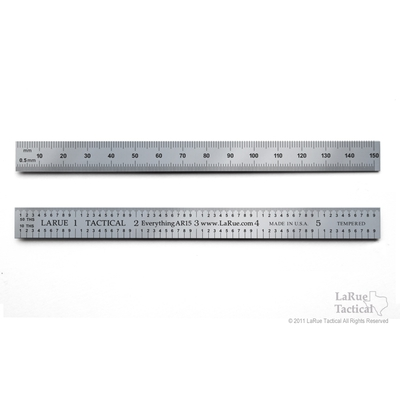 Image 2 of LaRue Tactical 6 Inch Tempered Steel La Ruler