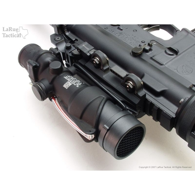 Image 2 of Trijicon ACOG USMC Rifle Optic (TA31 RCO with M4 Reticle) and LaRue Tactical LT100 QD Mount