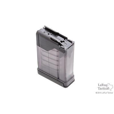 Image 2 of Lancer - L5AWM 5.56 10-Round Magazine Translucent Smoke