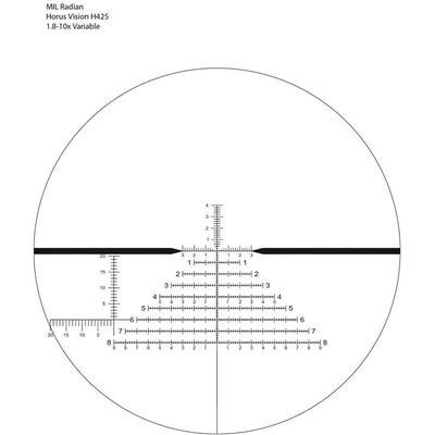 Image 2 of US Optics 1.8-10x42mm FDN 10x and LaRue Mount