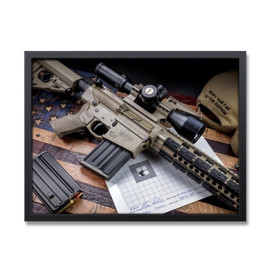 Image 1 of LaRue Tactical Framed Rifle Poster 18x24