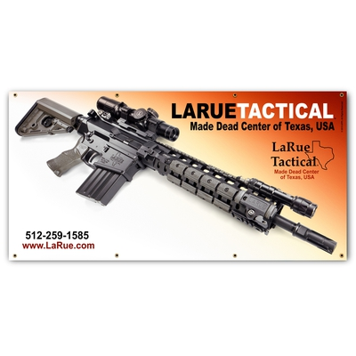 Image 1 of LaRue Tactical Match Banner 3' X 6' Color Graphic