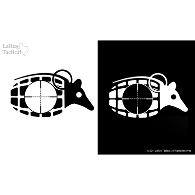Image 2 of LaRue Dillo Grenade Vinyl Decals/Stickers
