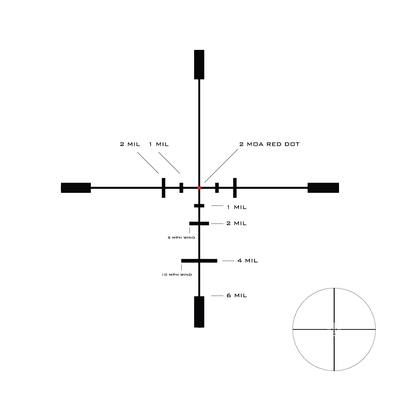 Image 2 of U.S. Optics SVS 1-6x24mm and LaRue Mount