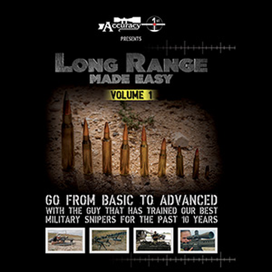 Accuracy 1st - Long Range Made Easy Volume 1 - DVD
