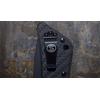 Image of Southern Grind Knife - Bad Monkey Folding Modified Tanto - Cerakote Armor Black