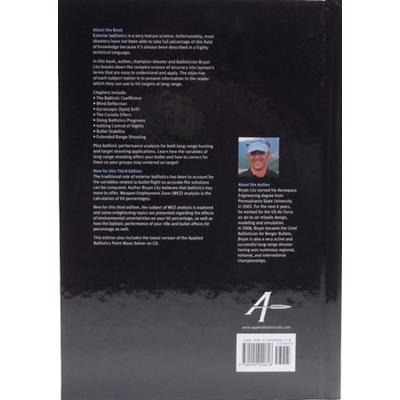 Image 2 of Applied Ballistics For Long Range Shooting 3rd Edition by Bryan Litz