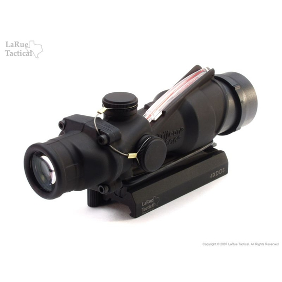 Trijicon ACOG USMC Rifle Optic (TA31 RCO with M4 Reticle) and LaRue Tactical LT100 QD Mount