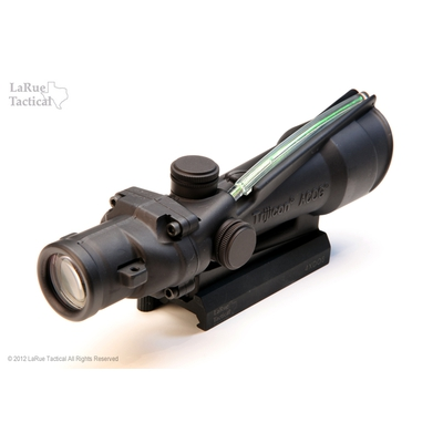 Image 2 of Trijicon ACOG 3.5 X 35 Scope TA-11 Dual Illum Green horseshoe / Dot .223 BDC and LT100 QD mount