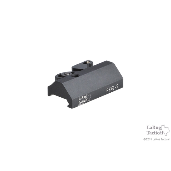 Image of PEQ-2A Mount LT124 w/ QD Mount