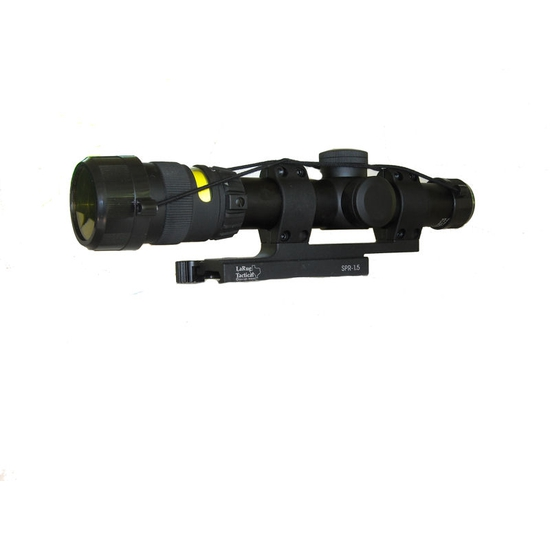Image of Trijicon AccuPoint 1-4x24 30mm Riflescope TR24R W/ LaRue Tactical LT 104-30