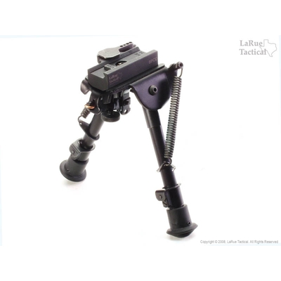 Image 2 of Harris Bipod BRM and LaRue Tactical LT130 QD Mount