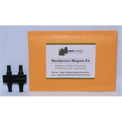 Image 1 of MagStorage Solutions Neodymium Magnet Kit