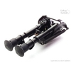 Image of Harris Bipod BRM and LaRue Tactical LT130 QD Mount