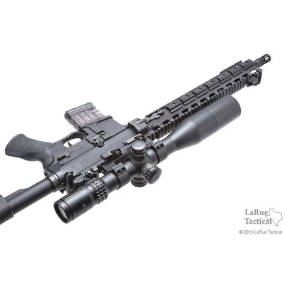 Image 2 of Burris XTR II 4-20x50 Riflescope with SCR Mil/MOA Reticle (34mm) with LaRue QD Mount