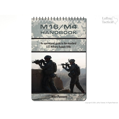 Image 1 of Book - M16/M4 Handbook by Mike Pannone