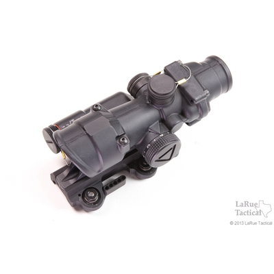 Image 1 of Trijicon 4x32 TA02 ACOG: LED Scope, Battery Illuminated Red Crosshair .223 Reticle w/ LT100 QD Mount