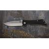 Image of Southern Grind Knife - Bad Monkey Folding Drop Point - Tumbled Satin