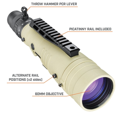 Image 1 of Bushnell Elite LMSS2 8-40x60 Spotting Scope H322 Reticle