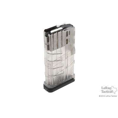 Image 1 of Lancer L7 Advanced Warfighter Magazine, 20 Round, Clear for 7.62mmX51 (.308win)