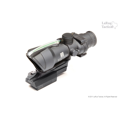 Image 2 of Trijicon ACOG TA31RCO Army Optic 4 X 32 with Green Illum w/ LaRue LT681 Mount