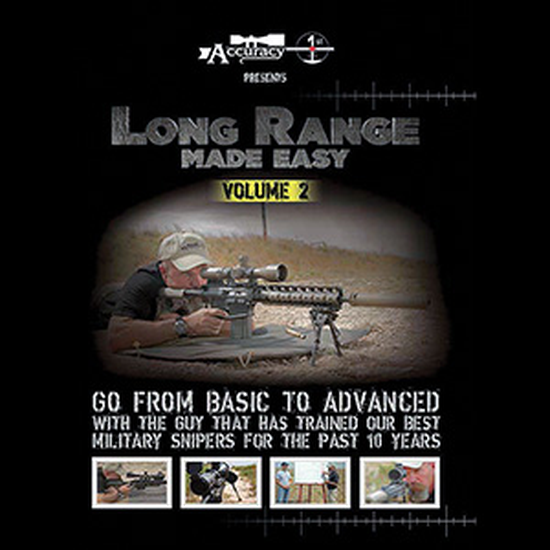Image of Accuracy 1st - Long Range Made Easy Volume 2 - DVD