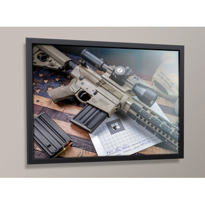 Image 2 of LaRue Tactical Framed Rifle Poster 18x24