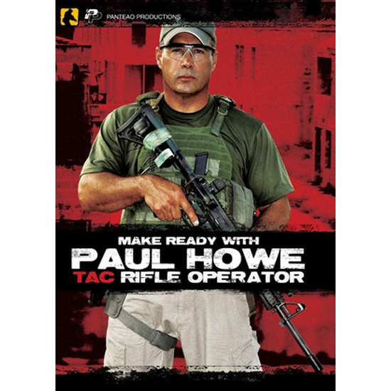 Image of DVD Paul Howe Tactical Rifle Operator