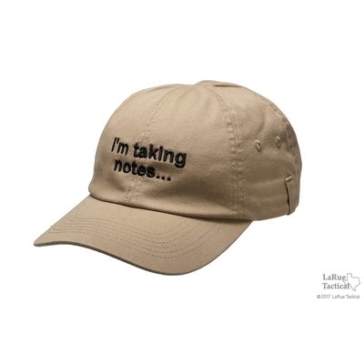 Image 1 of I'm Taking Notes... Ball Cap