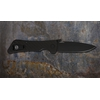Image of Southern Grind Knife - Bad Monkey Folding Drop Point - Cerakote Armor Black
