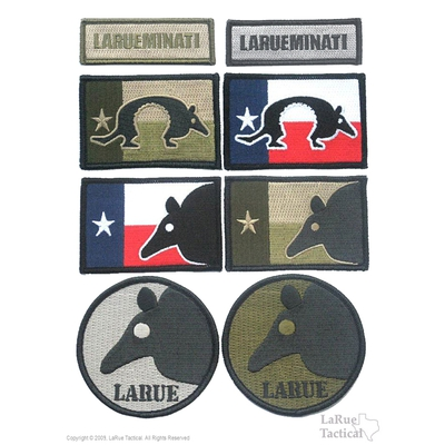 Image 1 of LaRue Tactical Morale Patches, Set of 8