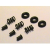 Image of Extractor Upgrade Triple kit/AR-15/Mil-Spec/3 Extra Power 5-Coil Extractor Springs, 3 Extractor Inserts and 3 Viton O-Rings