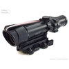 Image of Trijicon TA11F ACOG 3.5x35 Scope with Red Chevron BAC Reticle AND LaRue Tactical LT100 QD Mount