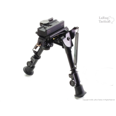 Image 2 of Harris Bipod BR-S and LaRue Tactical LT130 QD Mount