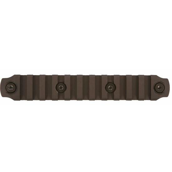 Image of BCM KeyMod 5.5 inch Picatinny Rail Section, Aluminum