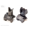 Image of Troy Front and Rear Folding Battle Sight with Tritium Inserts Combo