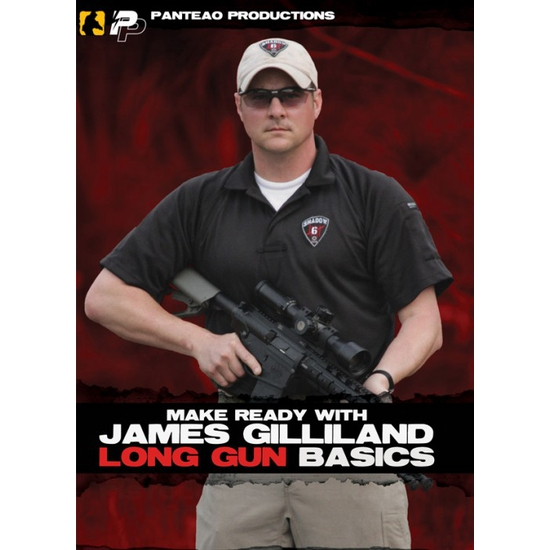 Image of DVD/ Make Ready With James Gilliland: Long Gun Basics