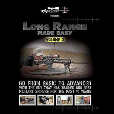 Image 1 of Accuracy 1st - Long Range Made Easy Volume 2 - DVD