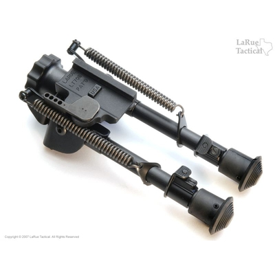 Image 2 of Harris Bipod BRM-S and LT706 QD Swivel Mount Combo