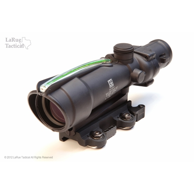 Image 1 of Trijicon ACOG 3.5 X 35 Scope TA-11 Dual Illum Green horseshoe / Dot .223 BDC and LT100 QD mount