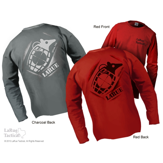 "LaRue Tactical LONG SLEEVE ""Dillo Grenade"" T-Shirt"
