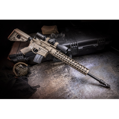 Image 2 of LaRue Tactical 6.5 Grendel FDE Rifle